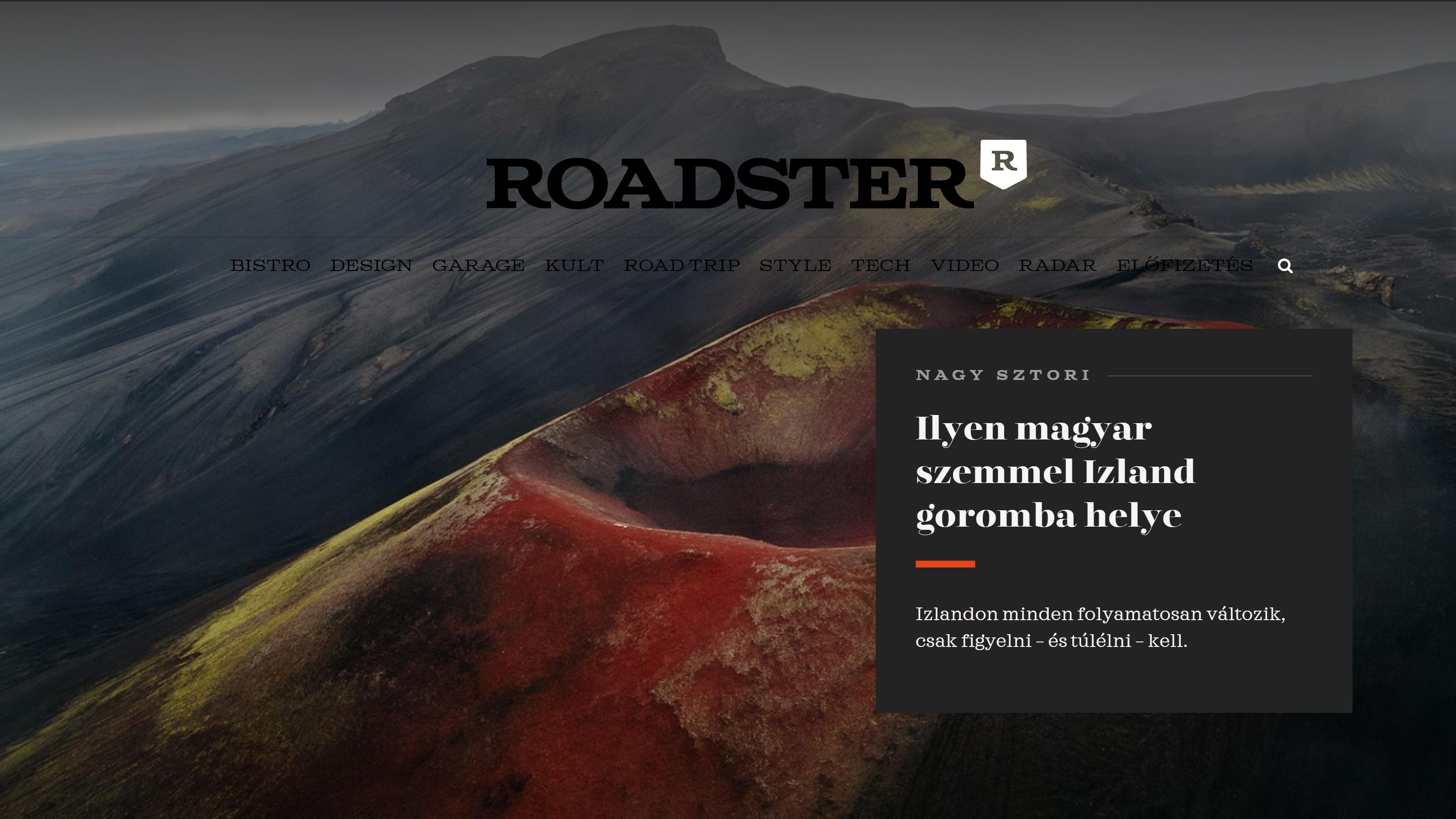 Roadster Magazine – Rauðaskál