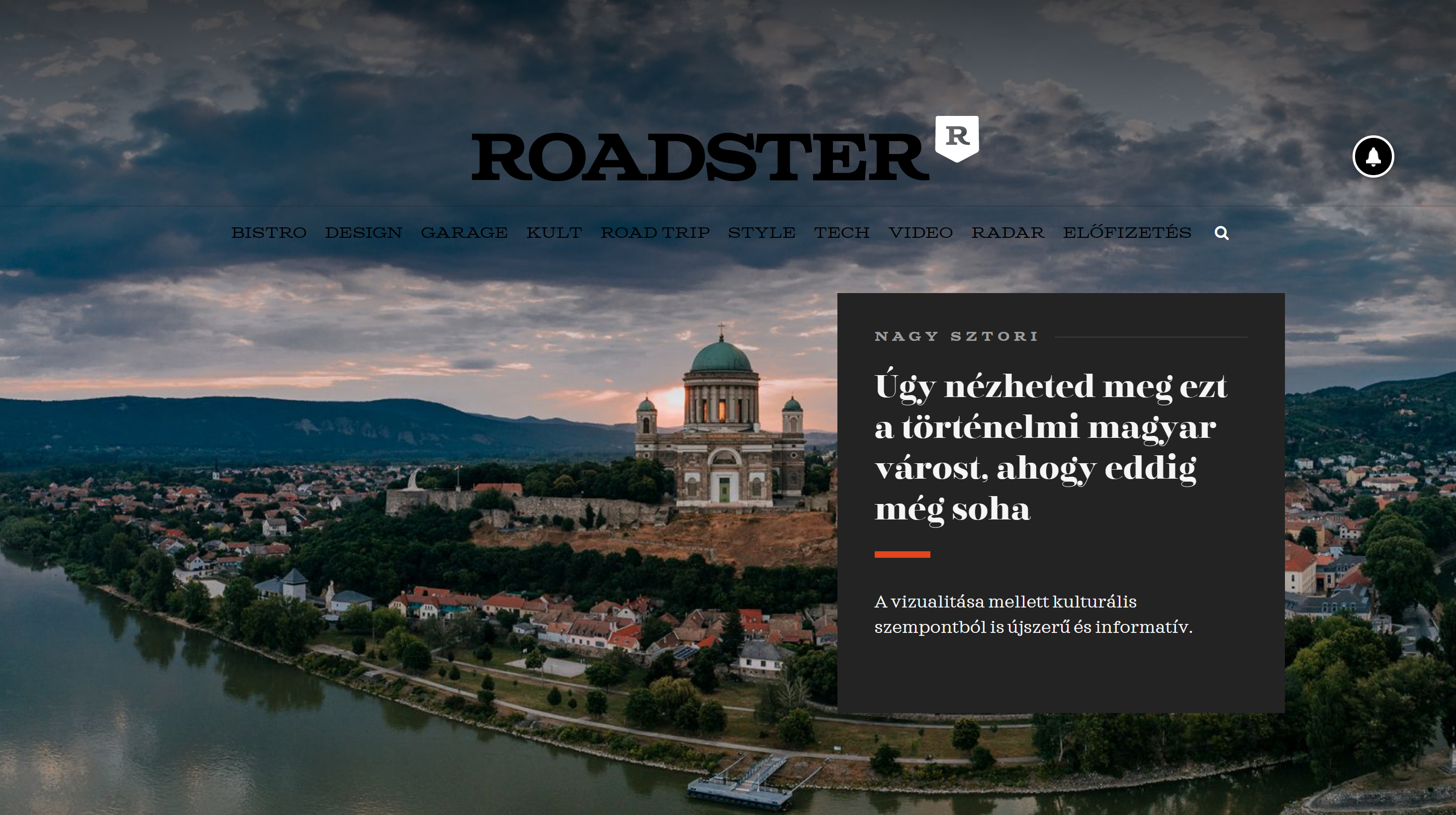 Roadster Magazine – Esztergom 360