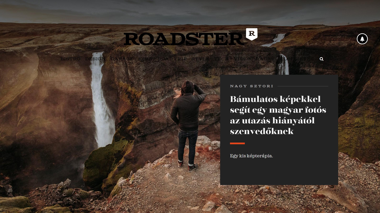 Roadster Magazine – Gjáin